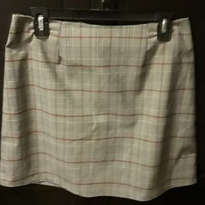Plaid Skirt, size large but fits more like a mefiu